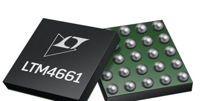Boost regulator from Analog Devices is for low voltage optical systems
