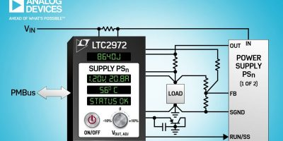 Digital power system manager can lower data centre cooling costs