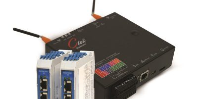 Signal interface module is for Ethernet and wireless networks for IIoT
