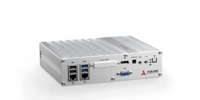 Adlink introduces I/O-rich fanless embedded computers