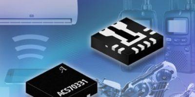 Integrated high sensitivity current sensor IC suits <5 AMP applications