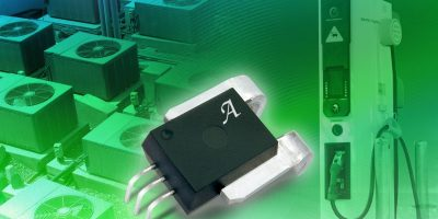 Current sensor ICs from Allegro MicroSystems Europe senses up to 400A