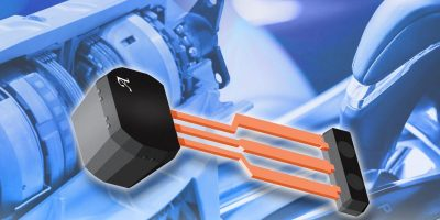 Allegro adds magnet to back-biased differential linear Hall sensor IC