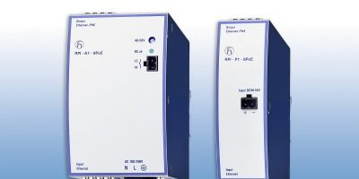 Power over Ethernet injectors addresses increased power demands of IoT