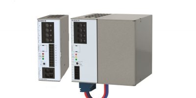 Block introduces ultracapacitor and battery-powered DC UPS at Hannover Messe