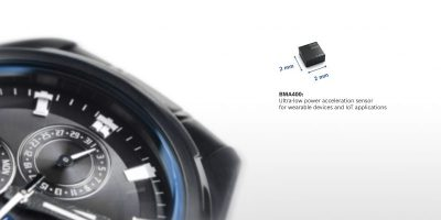 BMA400 accelerometer enhances battery life for always-on devices