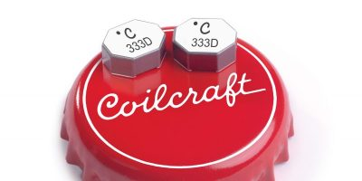 High-voltage coupled inductors reduce size over bobbin-wound versions