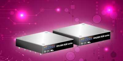 Dengrove offers Recom's wide input DC/DC converters for railway systems