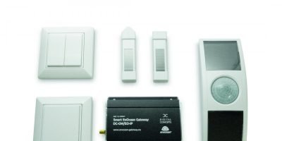 Wireless controls for building automation are self-powered