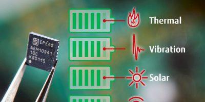 Fujitsu Electronics Europe adds energy harvesting components