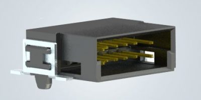 Miniature PCB connectors are robust