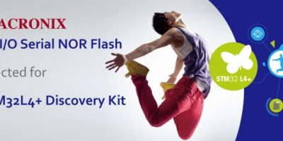 I/O flash memory complements STMicroelectronics STM32L4+ Discovery kit