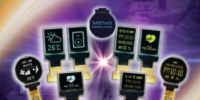 Micro OLED displays can be used in industrial equipment