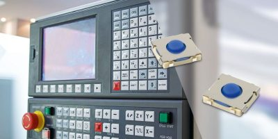 Thin, tactile switch withstands harsh environments