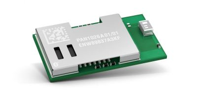 Bluetooth 4.2 module is integrated for high speed, low power operation