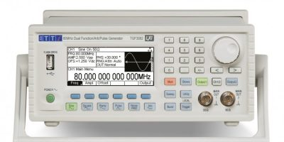 Farnell element14 adds Aim TTi's dual channel arbitrary function generators