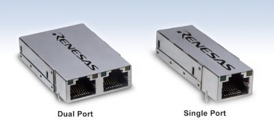 Intelligent RJ45 module solution makes integration easy for industrial Ethernet