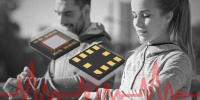 Sensor IC measures high-speed heart rate for vital sign sensing