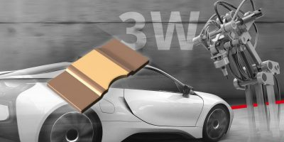 Compact shunt resistors suit automotive and industrial uses