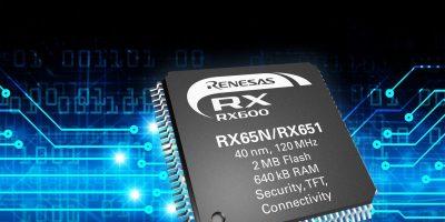 Rutronik adds Renesas RX65N/RX651 microcontrollers for IoT security