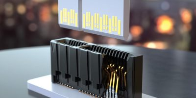 Edge card connectors produce higher speeds and proper alignment