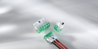 Flex Grip wire connectors speed up wire termination