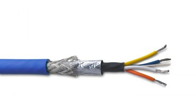 Cat5e rail data cable complies with fire regulations for rolling stock