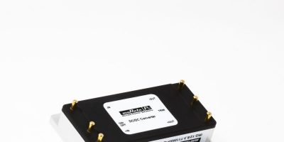 TTI adds Murata's IR series encapsulated DC/DC converters for railways