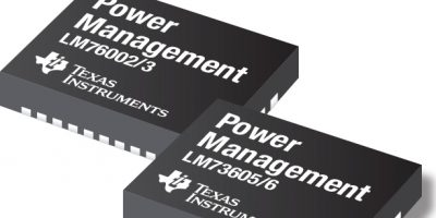 Texas Instruments introduces DC/DC buck regulators for rugged applications