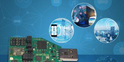 Toshiba's Bluetooth development platform is USB-based