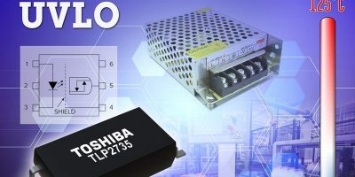 Photocoupler has UVLO for digitally controlled switching power supplies