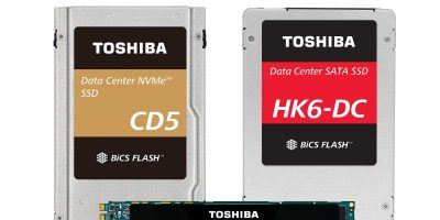 Toshiba Memory offers 3D flash memory-based PCIe NVMe and SATA SSDs
