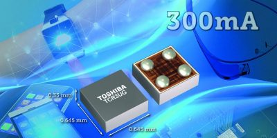 Toshiba launches small LDO regulator ICs for IoT applications