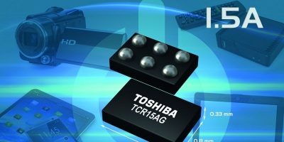 1.5A LDO regulators are in 'smallest' package