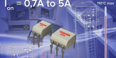 High-current photo relays replace mechanical relays in factory automation