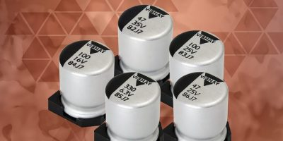 Conductive and hybrid aluminum polymer capacitors save PCB space