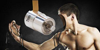 Miniature three-channel optical encoder runs smooth for robotics