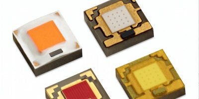 RS Components offers high-intensity colour and white LEDs from Lumileds