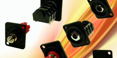 Cliff Electronics extends panel cut-out connector range