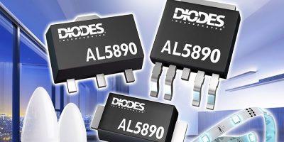 400V linear regulators deliver constant LED current in compact packages