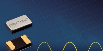 Package enhances mechanical flexibility for crystal oscillator