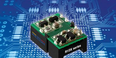 1W DC/DC converters add dual outputs to increase application options
