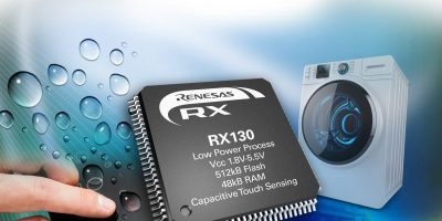 Renesas adds touch sensor to MCU, available from Rutronik UK