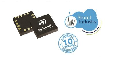 MEMS sensors have longevity support for industrial use