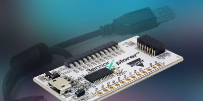 """Starter kit lets users """"test drive"""" Vishay's sensors"""