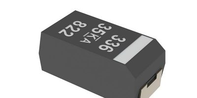 Kemet offers automotive-qualified polymer electrolytic capacitors