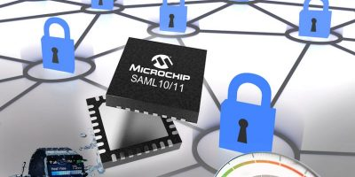 32-bit microcontroller features chip-level security