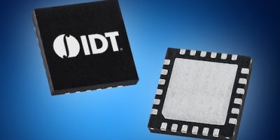 Mouser distributes IDT's 9FGV100x programmable PhiClock generator family