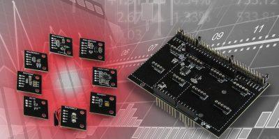 SensorShield-EVK-003 aids set development for IoT