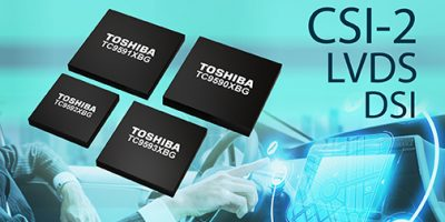Toshiba releases interface bridge devices for automotive infotainment applications